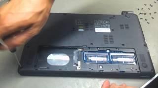 видео Ремонт ноутбука ACER Aspire E1-470P