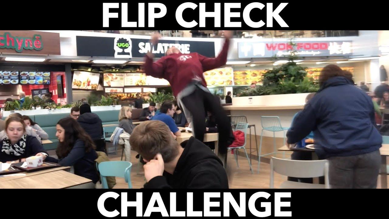FLIP CHECK   Šílená Challenge