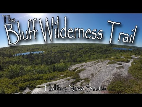 Hiking The Bluff Wilderness Trail In Halifax, Nova Scotia.