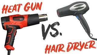 Heat Gun Vs Hair Dryer - How To Properly Use Heat Gun On Leather - LeatherSeats.com
