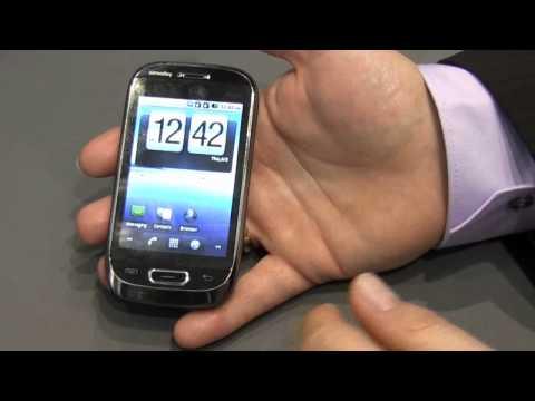 CeBIT 2011 - Günstigstes Android Smartphone (Simvalley SP40)