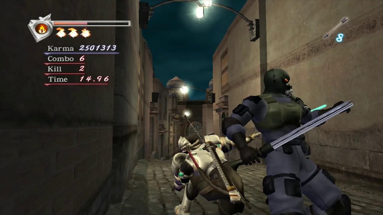 Ninja Gaiden 2004 Sp Very Hard Karma Run Chapter 5 Youtube