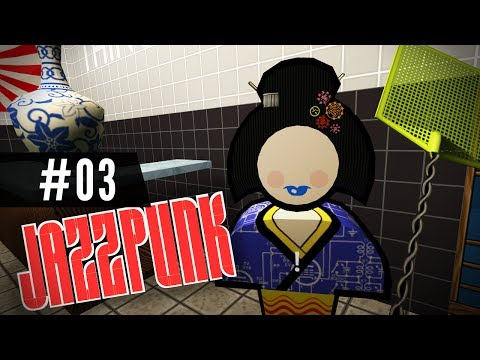 Let's Play JAZZPUNK - Part 3 - Swatter Slap!