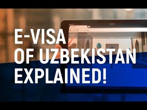 E-visa of Uzbekistan explained!