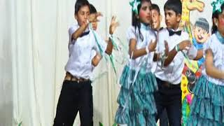 Action song by second std students of St Mary's English Medium School, Udupi 2019
