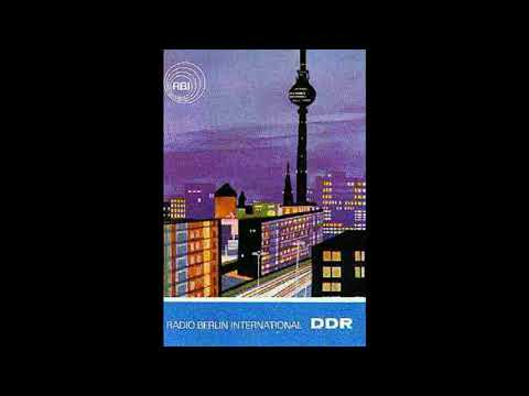 Radio Berlin International -  Nachrichten 1989 (RBI, DDR)