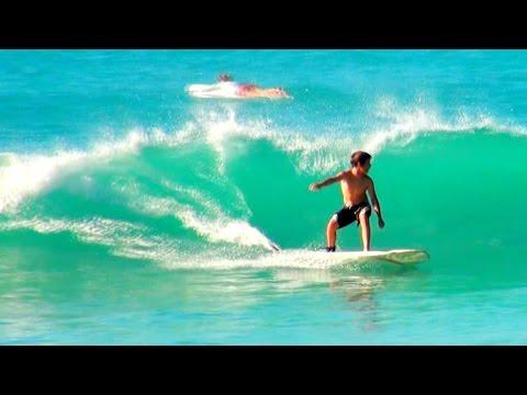 SURF'S UP!  At Josiah's Bay on Tortola in the British Virgin Islands, CARIBBEAN!