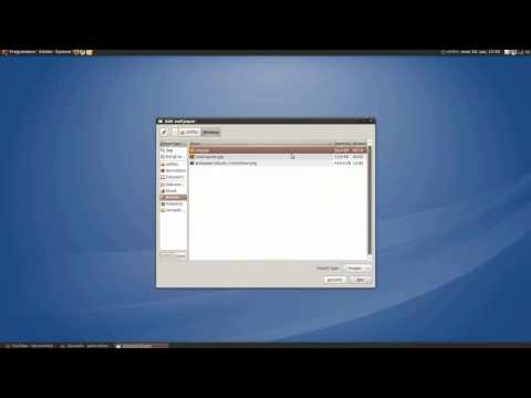 Desktop Drapes - Ubuntu 9.10