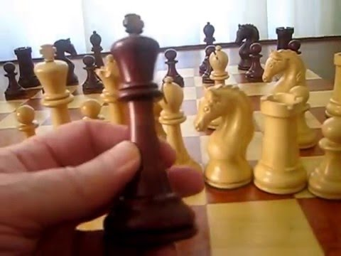 Official Staunton Chess Company's 1963-1966 Piatigorsky Cup Reproduction Chessmen