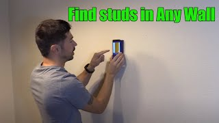 How to Find Studs in Any Wall with Walabot DIY Plus Scanner