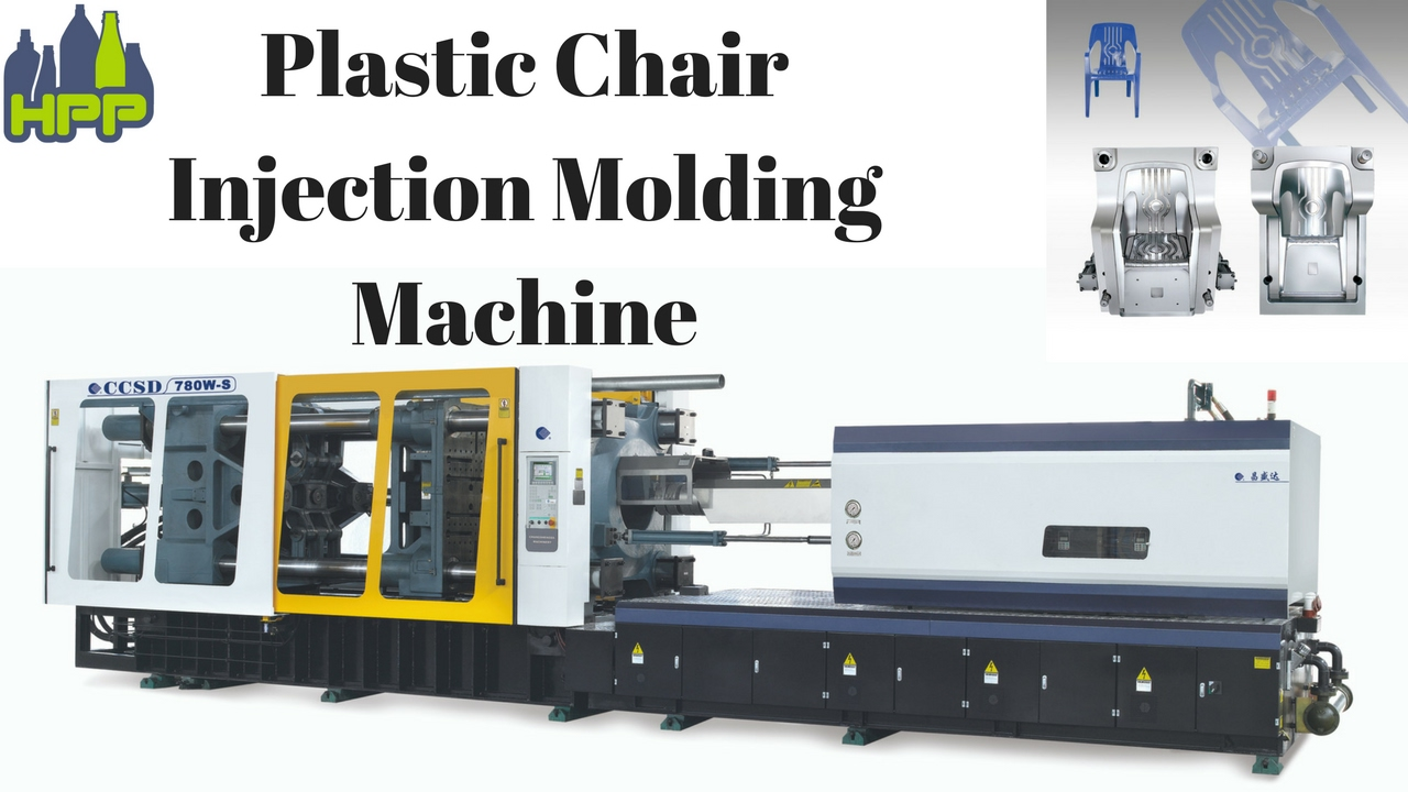 How Plastic Chair is made by Injection Molding machine