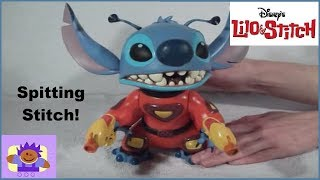 "Disney Lilo & Stitch Talking Spitting STITCH 9"" Toy"