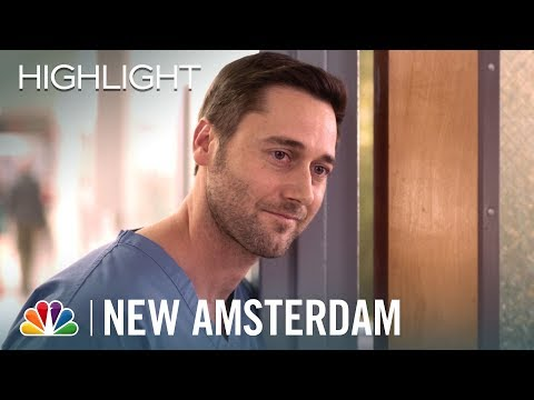 Max Leans on Sharpe - New Amsterdam (Episode Highlight)
