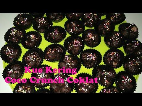 Resep Dan Cara Membuat Kue Kering Coco Crunch Coklat Simple