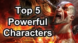 Top 5 - Powerful game characters
