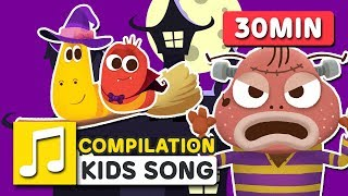 HALLOWEEN MONSTERS AND OTHER SONGS | 30MIN | LARVA KIDS | SUPER BEST  SONGS FOR KIDS