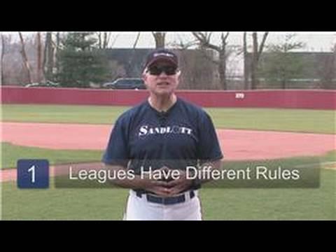 Youth Baseball : Little League Baseball Rules & Regulations