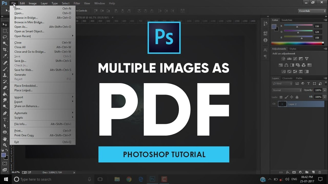 Photoshop Tutorials For Beginners In Pdf