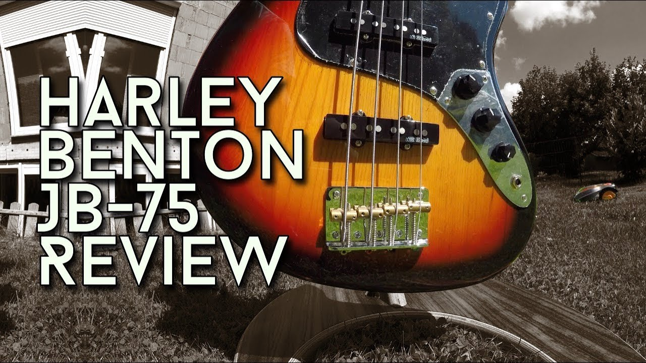 Jazz Bass for 139 Euro? How good is the Harley Benton JB-75?