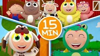 MIX Os Pequerruchos - Na Fazenda - 15 Minutos