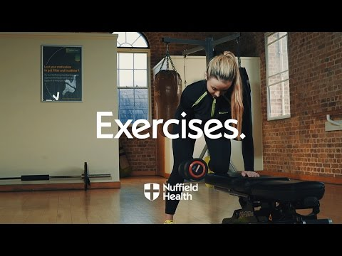 Single Arm Dumbbell Row | Nuffield Health