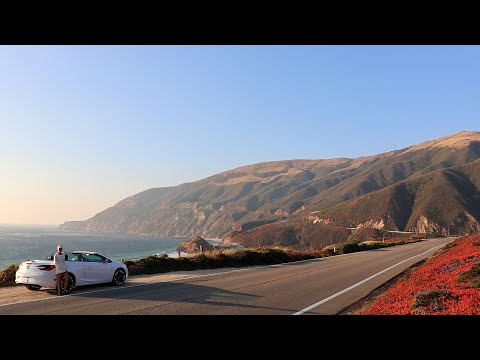 OUR BIG SUR ADVENTURE (MORRO BAY, HEARST CASTLE, ELEPHANT SEALS, RAGGED POINT, BIXBY BRIDGE)