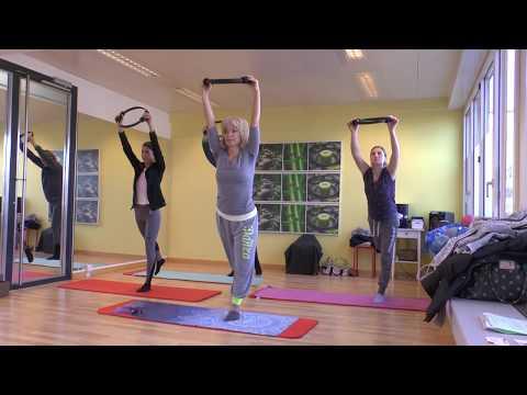 Pilates mit dem Pilates Ring, Workout mit dem Magic Circle.