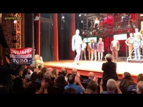 Trump supporter disrupts 'A Bronx Tale' performance
