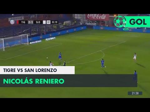 Nicolás Reniero (2-2) Tigre vs San Lorenzo |  Fecha 1 - Superliga Argentina 2018/2019
