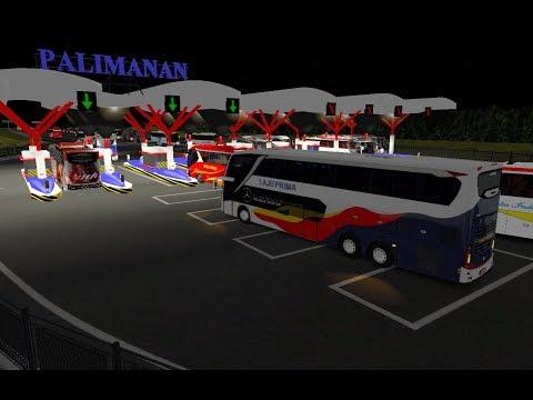 Laju Prima SDD jalur tol PALIMANAN || ETS2 bus mod indonesia