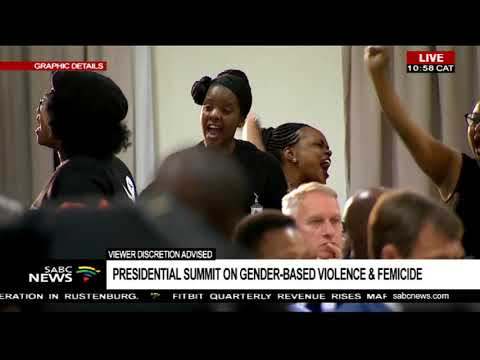 Phindile shares her story - Gender-Based Violence and Femicide Summit
