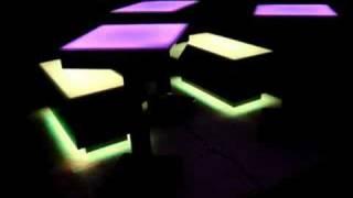Lighted High Boy Tables - Bar Furniture