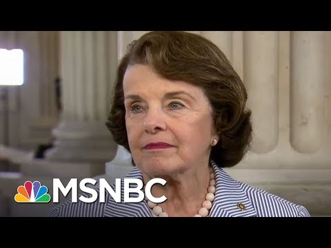 Dianne Feinstein: Should Subpoena If Tapes Exist Of Donald Trump/Comey Talks | MTP Daily | MSNBC