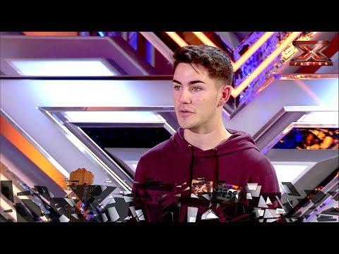 El 'Perfect' de Ed Sheeran de Jaime conquista a Laura Pausini | Inéditos | Factor X 2018