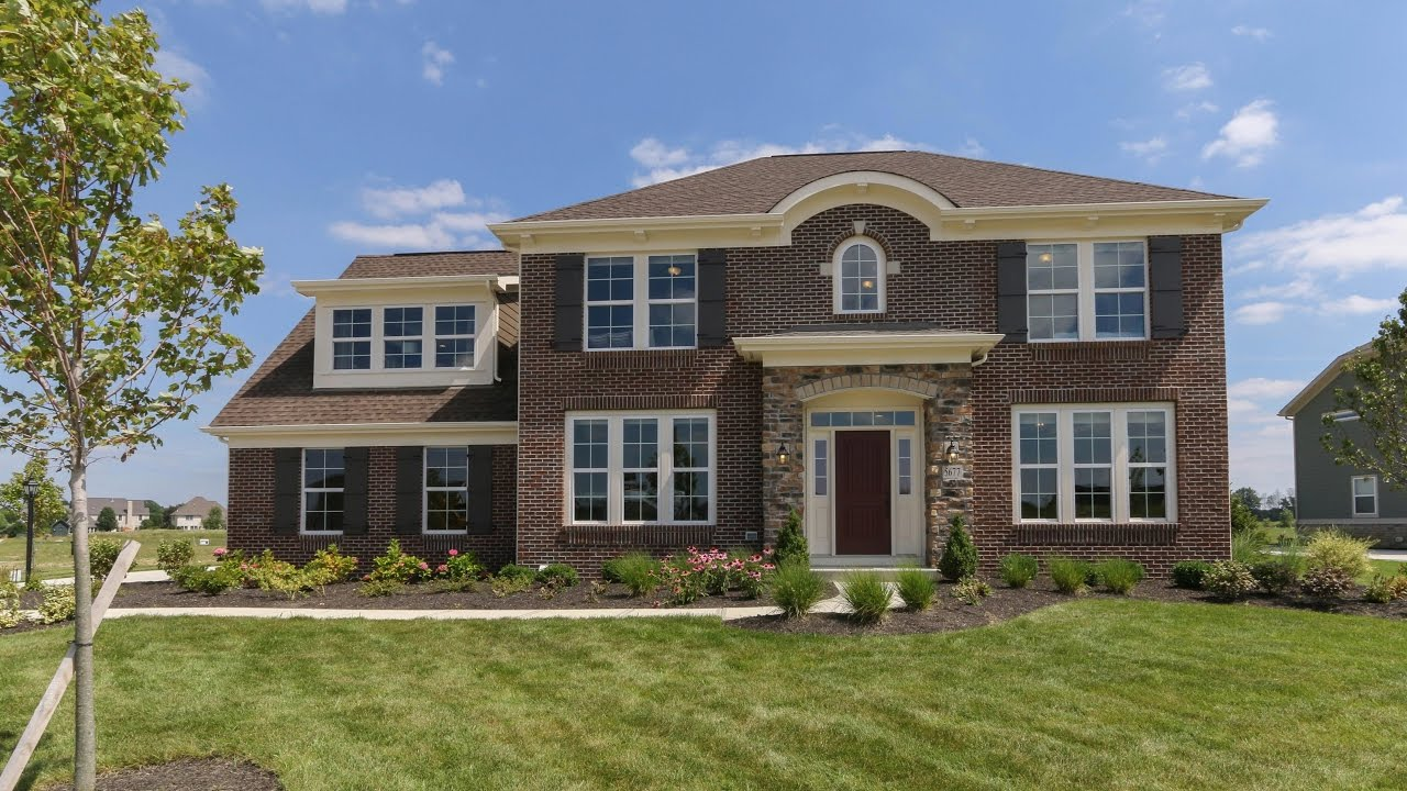 The yale floorplan by fischer homes model home in dublin for Home by home