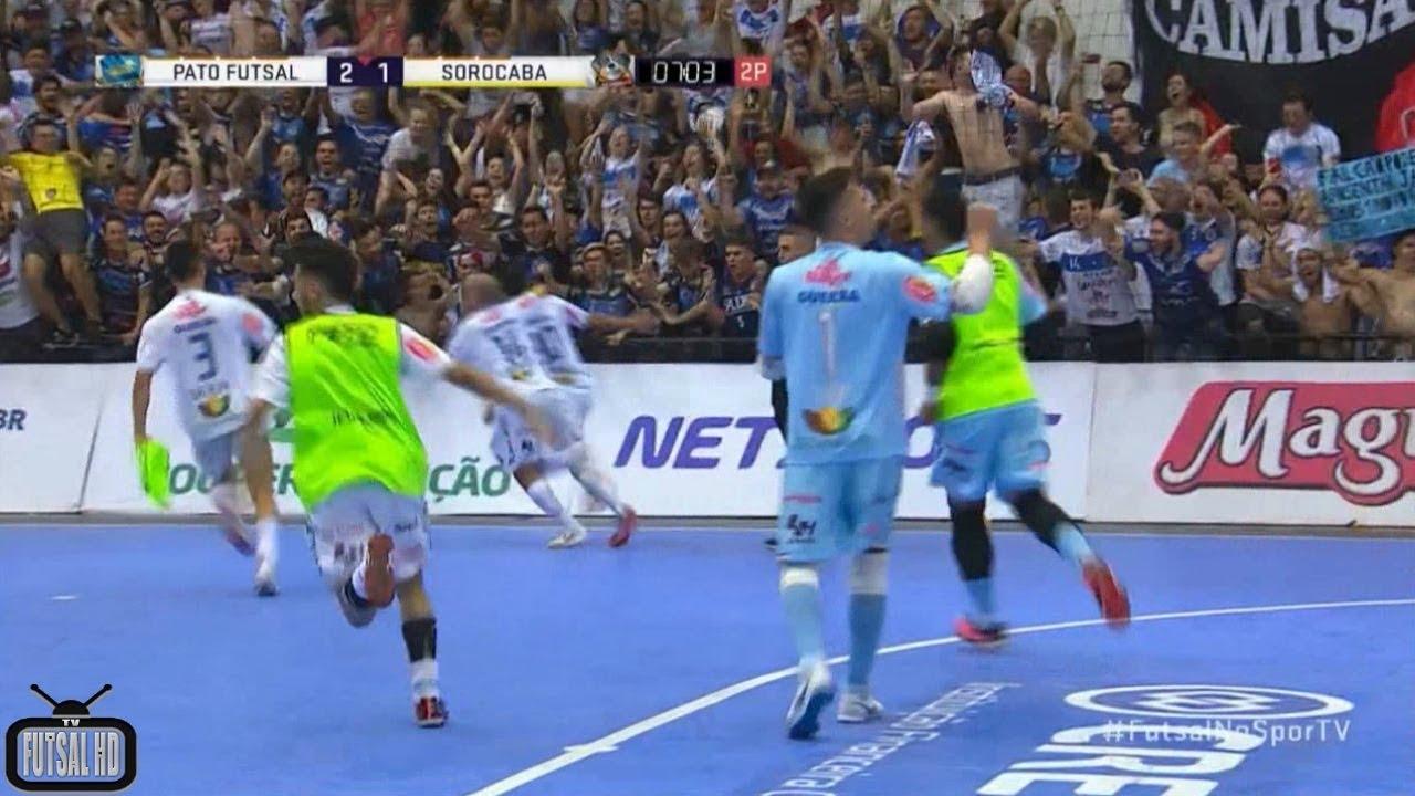 Gols Pato 2(3)x(1)2 Magnus - Semifinal 2º Jogo Liga Nacional de ... accfb46581ace