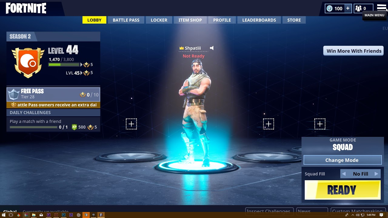 fix fortnite desktop taskbar stuck on screen quick fix - fortnite mouse going off screen