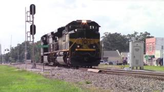 (Must See) NS Erie SD70ACE KILLER HORN SHOW & NOTCH 8 ACTION!!!!! With an Cool Engineer NS 44G