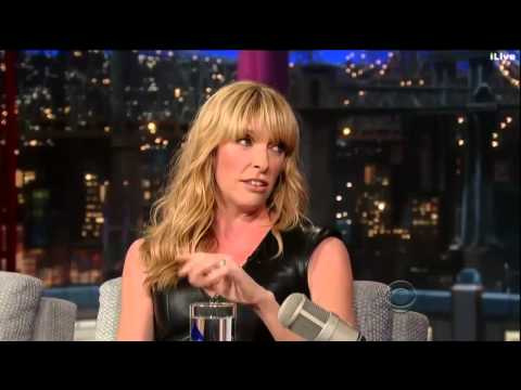 Toni Collette on David Letterman 12 September, 2013 Full Interview