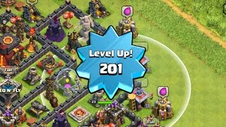 Clash of Clans - Trophy Pushing To Champions League - Reaching Master 2 With Barch + Level 201