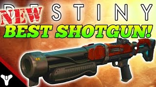 "Destiny: ""NEW BEST SHOTGUN?!"" Destiny Party Crasher +1 Weapon Review (House of Wolves Weapon Review)"