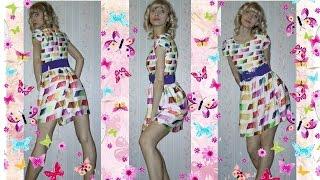 Название: Посылка #28. Платье для художников. С Китайского сайта Aliexpress.