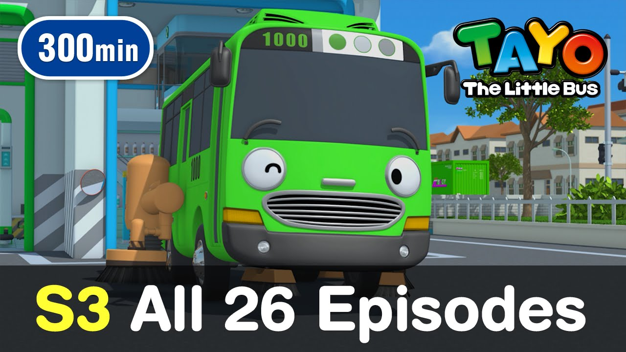 tayo s3 all 26 full episodes of season 3 300 mins youtube
