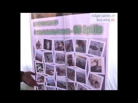 Students Islamic Organisation of India Environmental Exhibition at Nampally