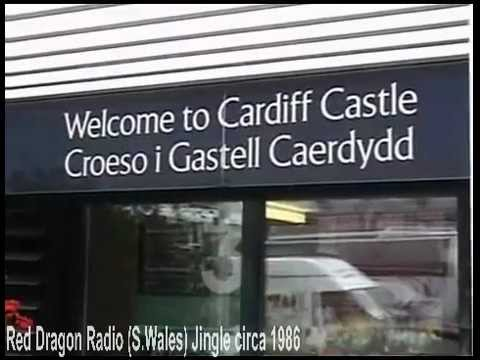 Red Dragon Radio FM Capitol (Cardiff / S.Wales) Jingle, ident , circa 1986