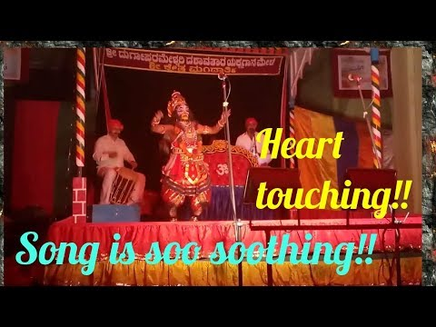 Yakshagana-  Hanuman entry by most melodious song   Mandarthi mela