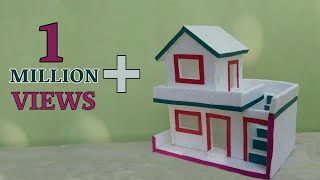 DIY- Thermocol House | How To Make Thermocol House | Thermocol Craft For School Project
