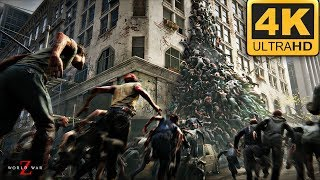 World War Z - Surviving Zombie Apocalypse Hordes!  [4K PC Gameplay]