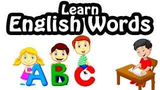 Kids vocabulary compilation - Words Theme collection|English educational video for kids