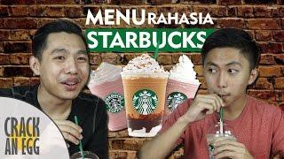 Menu Rahasia Starbucks Terbongkar! | Indonesian Starbucks Secret Menu Taste Test